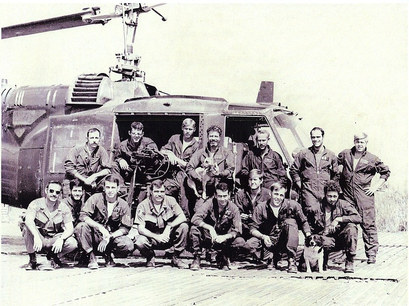 The Det-7 unit is pictured in Dong Tam in 1971.