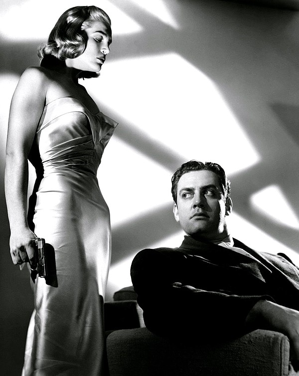 Lizabeth Scott and Raymond Burr define classic noir in