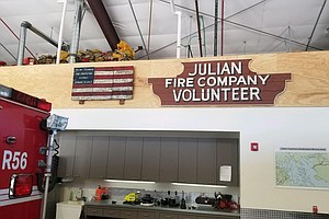 San Diego County's Last All Volunteer Fire Department May...