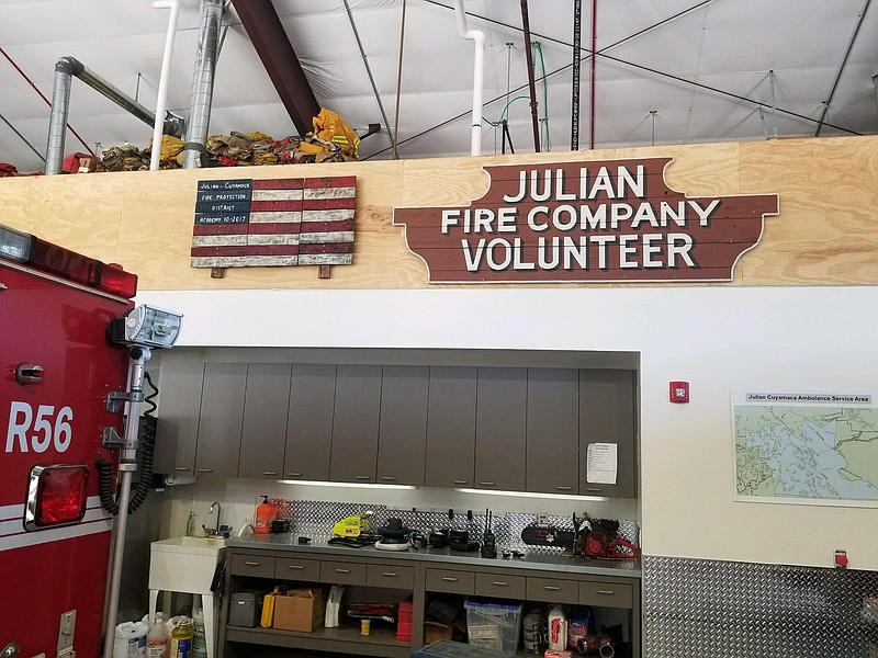 Julian Volunteer Firefighters Battle To Preserve Their