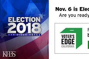 November 2018: How To Use The KPBS Voter Guide