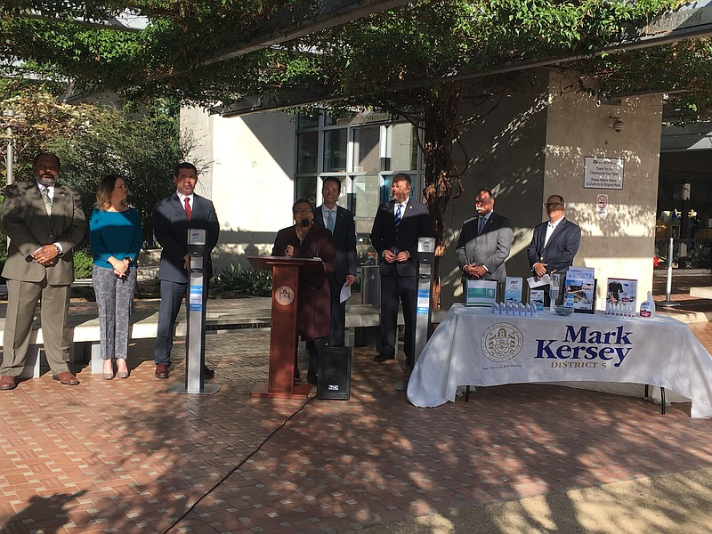 San Diego City District 5 Councilman Mark Kersey announces partnership to equ...