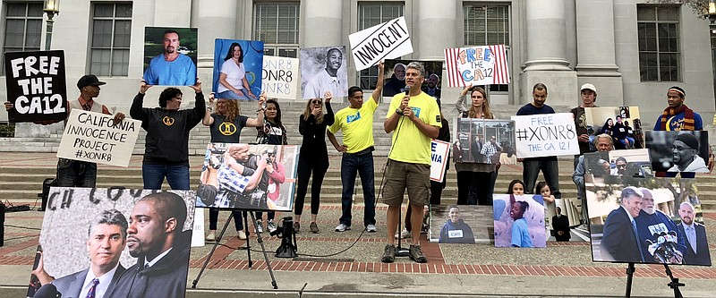 Justin Brooks, project director of the California Innocence Project, in Berke...