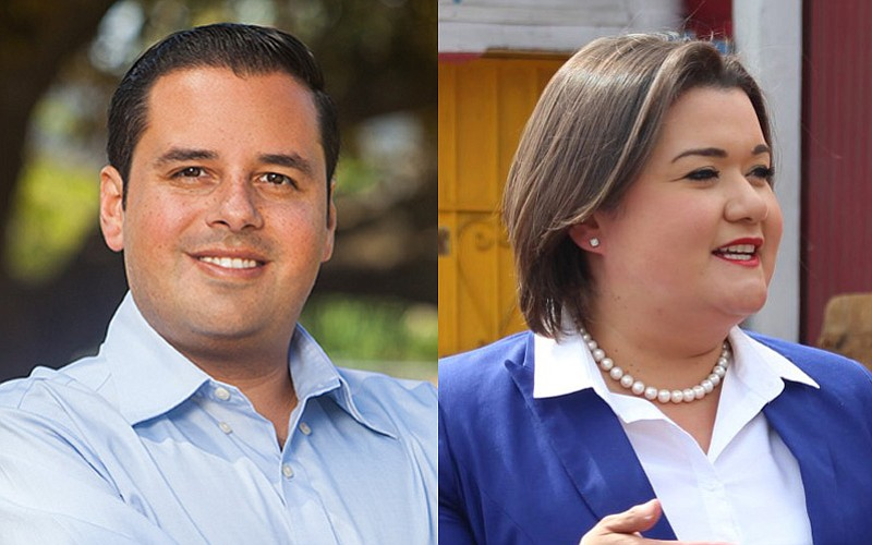 City Council District 8 candidates Vivian Moreno and Antonio Martinez, vying ...