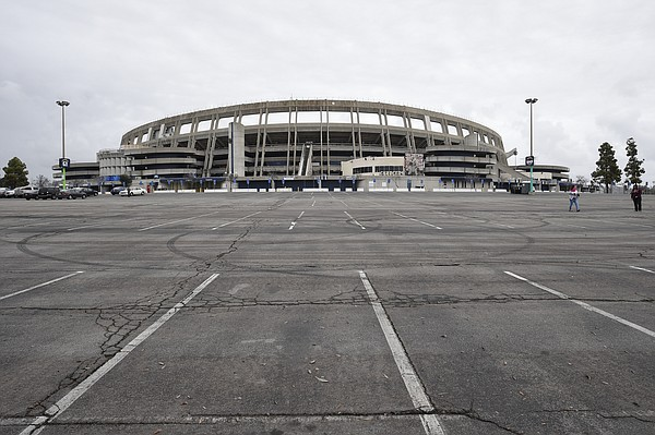 The SDCCU Stadium sits empty, in San Diego, Thursday, Jan...