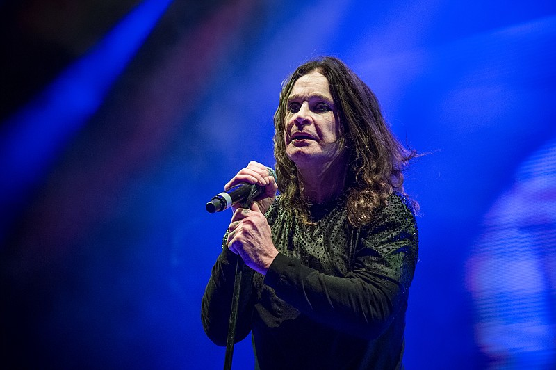 Ozzy Osbourne of Black Sabbath performs during night one of Ozzfest meets Kno...