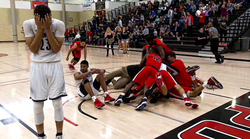 The San Diego City College Knights win the state championship against Fullert...