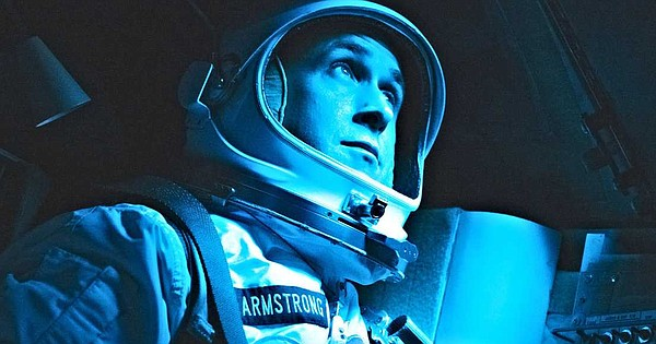 Ryan Gosling plays astronaut Neil Armstrong in the new mo...