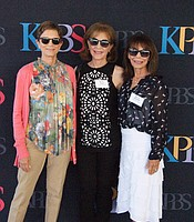 KPBS Producers Club members at the Festival of Books Sneak Peek Event at Coasterra.