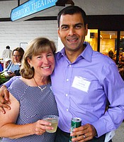 Producers Club members Jennifer and Joydeep Goswami.