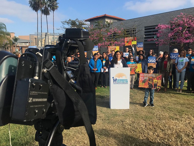 Activists push city officials to show how much they are spending in San Diego...