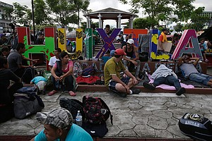 Weary Migrants Still Far From Reaching US Border