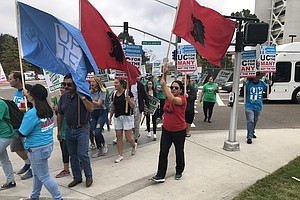 UC Workers Begin Three-Day Strike Over Outsourcing Compla...