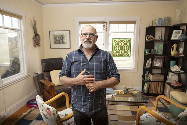 Don Weinger stands in his home in this undated photo.