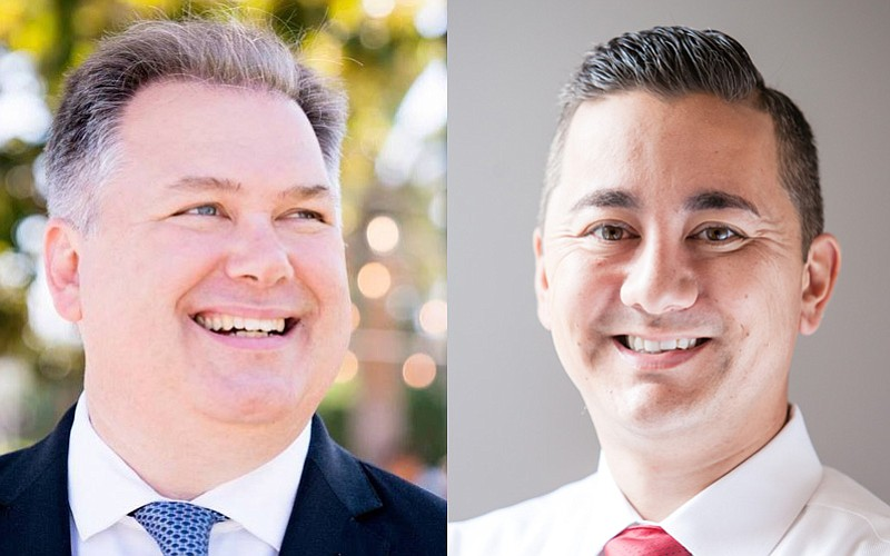 San Diego City Council District 6 candidates Democrat Tommy Hough and Republi...