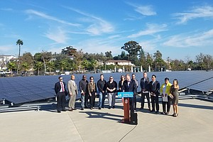 Photo for San Diego Mayor Faulconer Announces Support For Alternative Energy Program