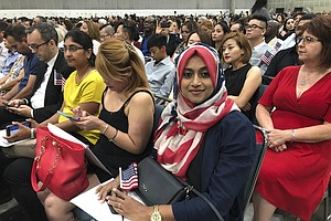 Photo for Wait Times For Citizenship Applications Stretch To 2 Years