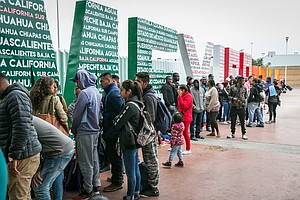 Waitlist For Asylum-Seekers In Tijuana Now At Its Highest...