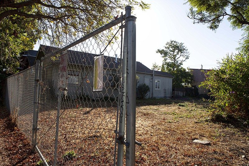 A vacant California property is shown in this undated photo.