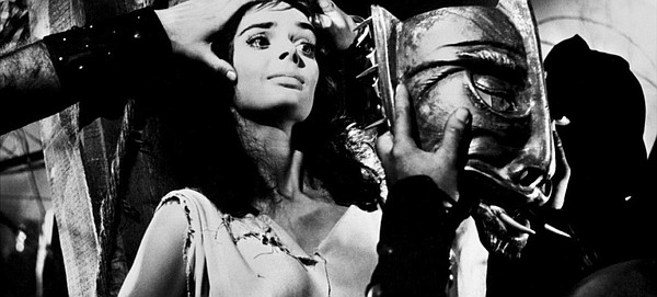 Barbara Steele meets a very unpleasant fate after being a...