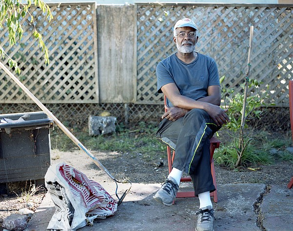 Homeowner Kenneth Wilkins pictured at his North Oakland p...