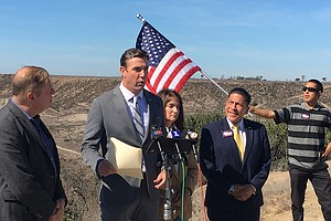 Rep. Duncan Hunter Visits Border Ahead Of Election