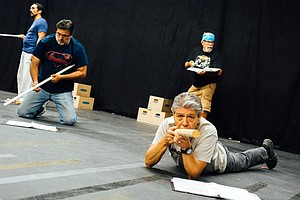 Photo for Nobody Knows How Many Mexican-Americans Served In Vietnam. A New Play Tells T...