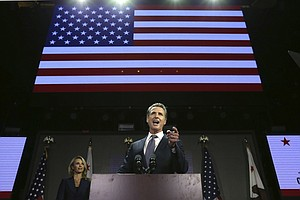 Trump Critic Gavin Newsom Elected California Governor