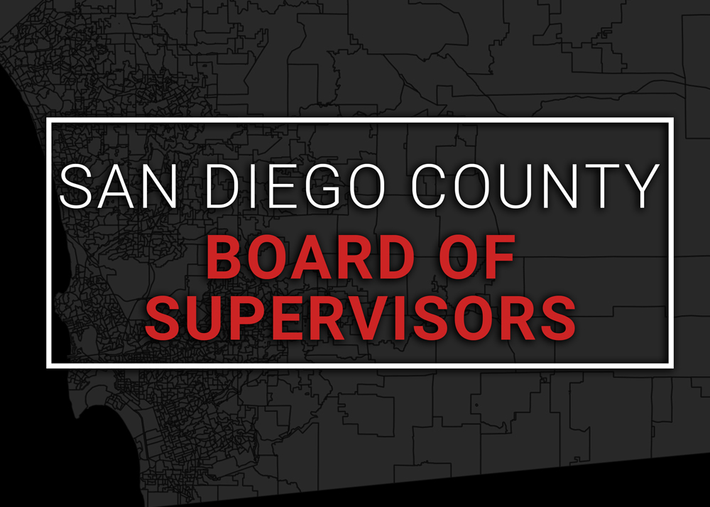 mapping the vote san diego county board of supervisors races kpbs. Black Bedroom Furniture Sets. Home Design Ideas
