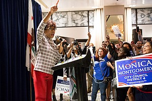 Photo for Monica Montgomery Discusses Win, Future On The San Diego City Council