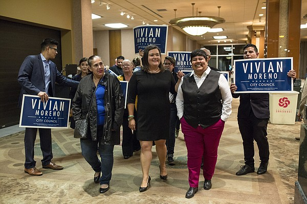 Democrat Vivian Moreno, who was elected to the San Diego ...