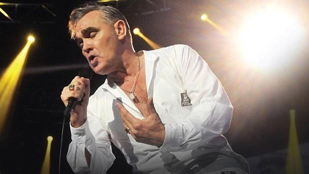 A promotional photo of musician Morrissey.