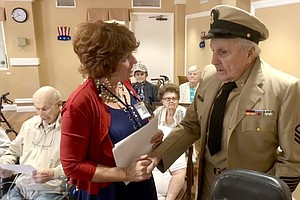 Seniors Honored For Military Service In Oceanside For Vet...