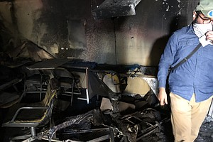 Photo for Arson At Nonprofit That Campaigned For Rent Control Believed To Be Politicall...