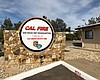 The sign for the Cal Fire San Diego Unit Headqu...
