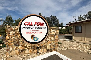 Photo for Red Flag Remains In Effect For San Diego County Due To 'Extreme Fire' Conditi...