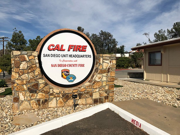 Photo for San Diego Area On Wildfire Alert Amid Spell Of Santa Ana ...