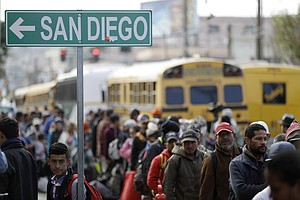 San Diego Migrant Shelter Reaches Capacity
