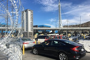 Officials Reopen San Ysidro Pedestrian Crossings And Sout...