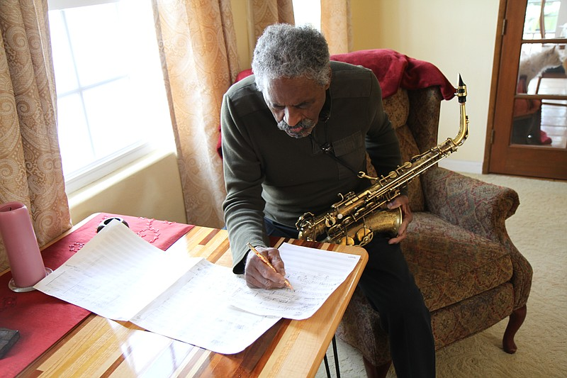 San Diego saxophonist Charles McPherson in an undated photo.