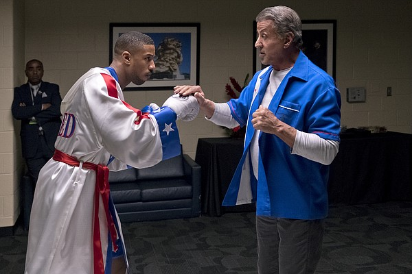 Adonis Creed (Michael B. Jordan) gets ready for a fight w...