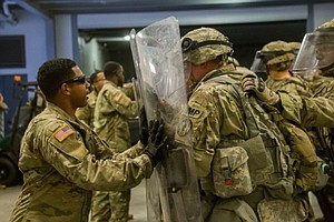 Photo for Military Shifts More Troops To San Diego-Mexico Border