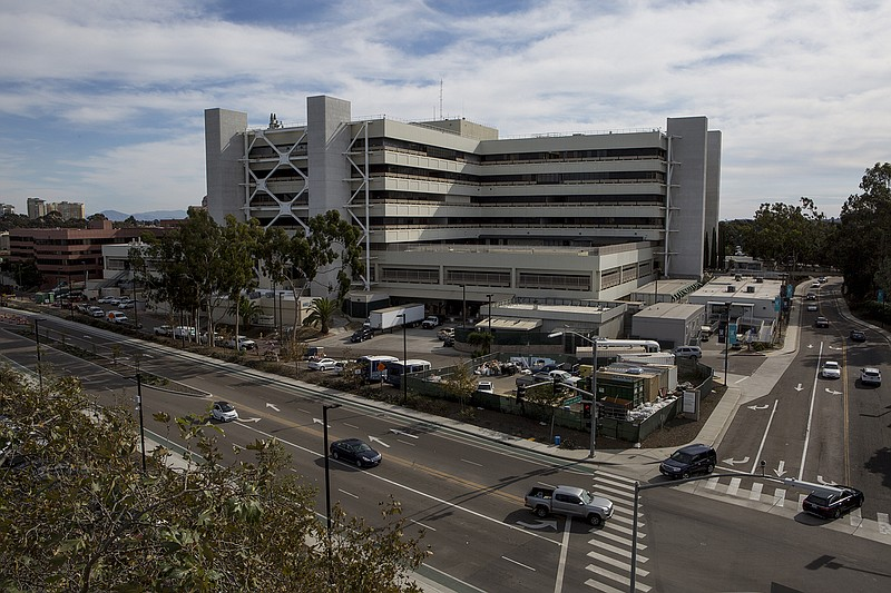 The VA San Diego Healthcare System in La Jolla is shown on Nov. 15, 2018.