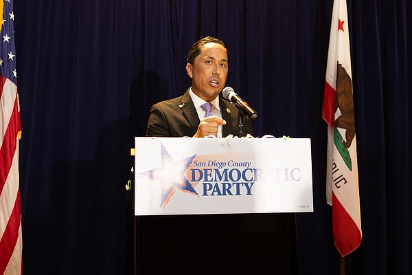 State Assemblyman Todd Gloria, D-San Diego, speaks at San...