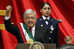 Mexico's President Renews Call For Apology From Spain For...