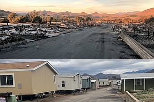 Community Devastated By Lilac Fire Nearly Back To Normal ...