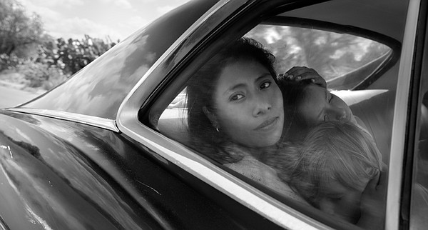 Yalitza Aparicio plays Cleo, a maid who also looks after ...