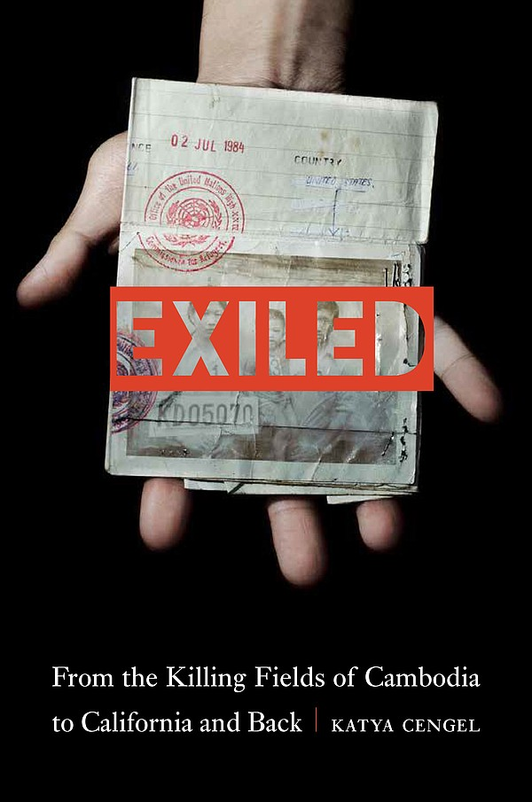 "Book cover of ""Exiled: From the Killing Fields of Cambodi..."