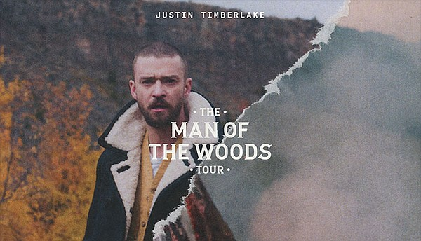 A 2018 promotional poster for Justin Timberlake's