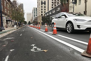 San Diego Kicks Off Construction Of Downtown Bike Network